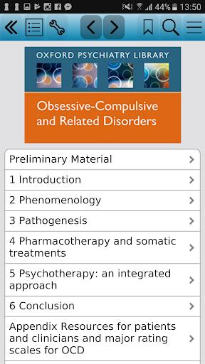 Obsessive-Compulsive & Rela 2e screenshot for Android