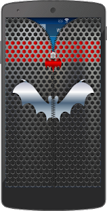 Metal Bat Zip Screen Lock screenshot 4