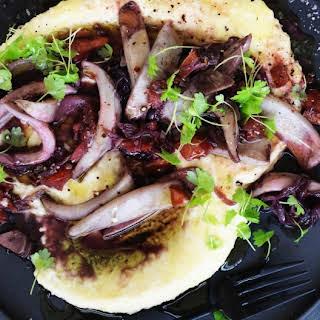 Cuttlefish Braised In Red Wine.