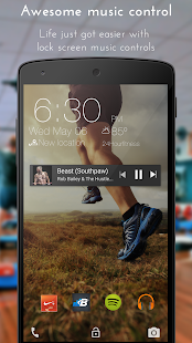 Staytuned Smart Lock Screen- screenshot thumbnail