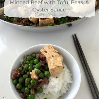 Minced Beef with Tofu, Peas, and Oyster Sauce