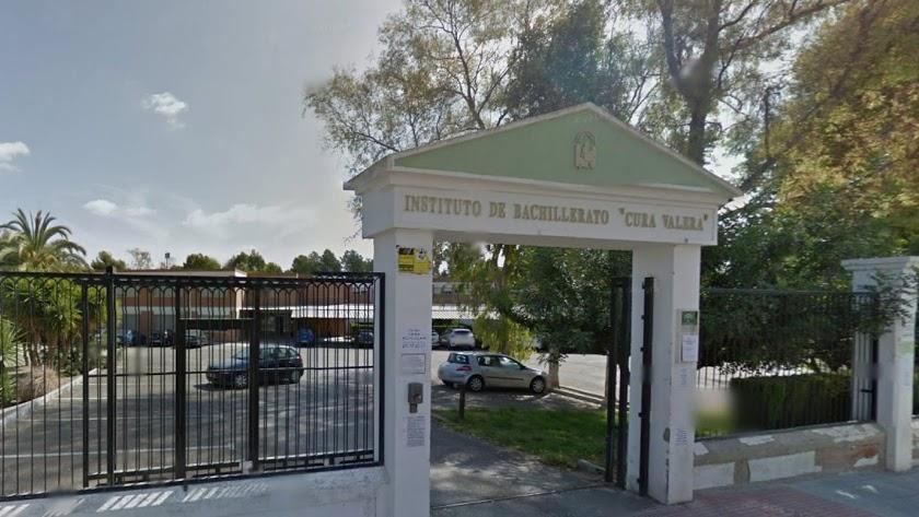 el instituto de Huércal-Overa Cura Valera se ha convertido en el centro de la polémica.