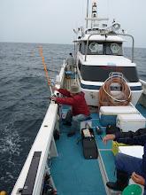 Photo: 本日は、ウキ流しで真鯛をねらいます!