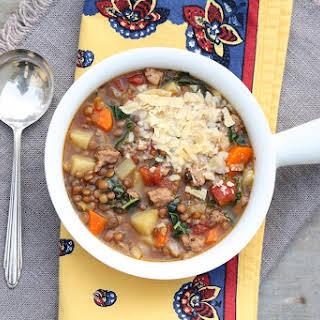 Tuscan Lentil Soup.