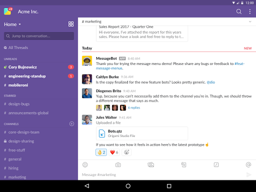 Slack  screenshots 6