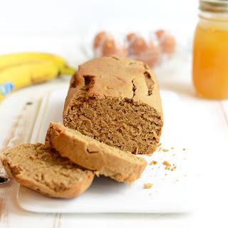 Gluten-Free Peanut Flour Banana Bread.