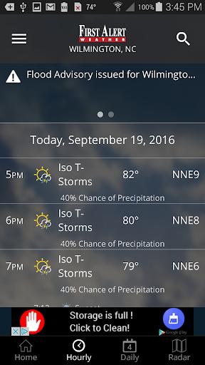 WECT 6 First Alert Weather screenshot 3