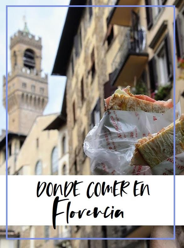 restaurantes donde comer en Florencia