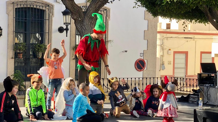 Distintas actividades llenan la Navidad en todos los núcleos de Níjar.