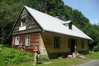 Photo: Chata Pavučinka v údolí Stříbrného potoka