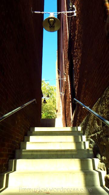 Staircase next to RISD
