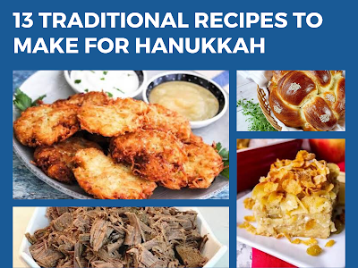 13 Traditional Recipes to Make for Hanukkah