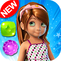 Candy Girl - Cute match 3 games New match 3 free icon