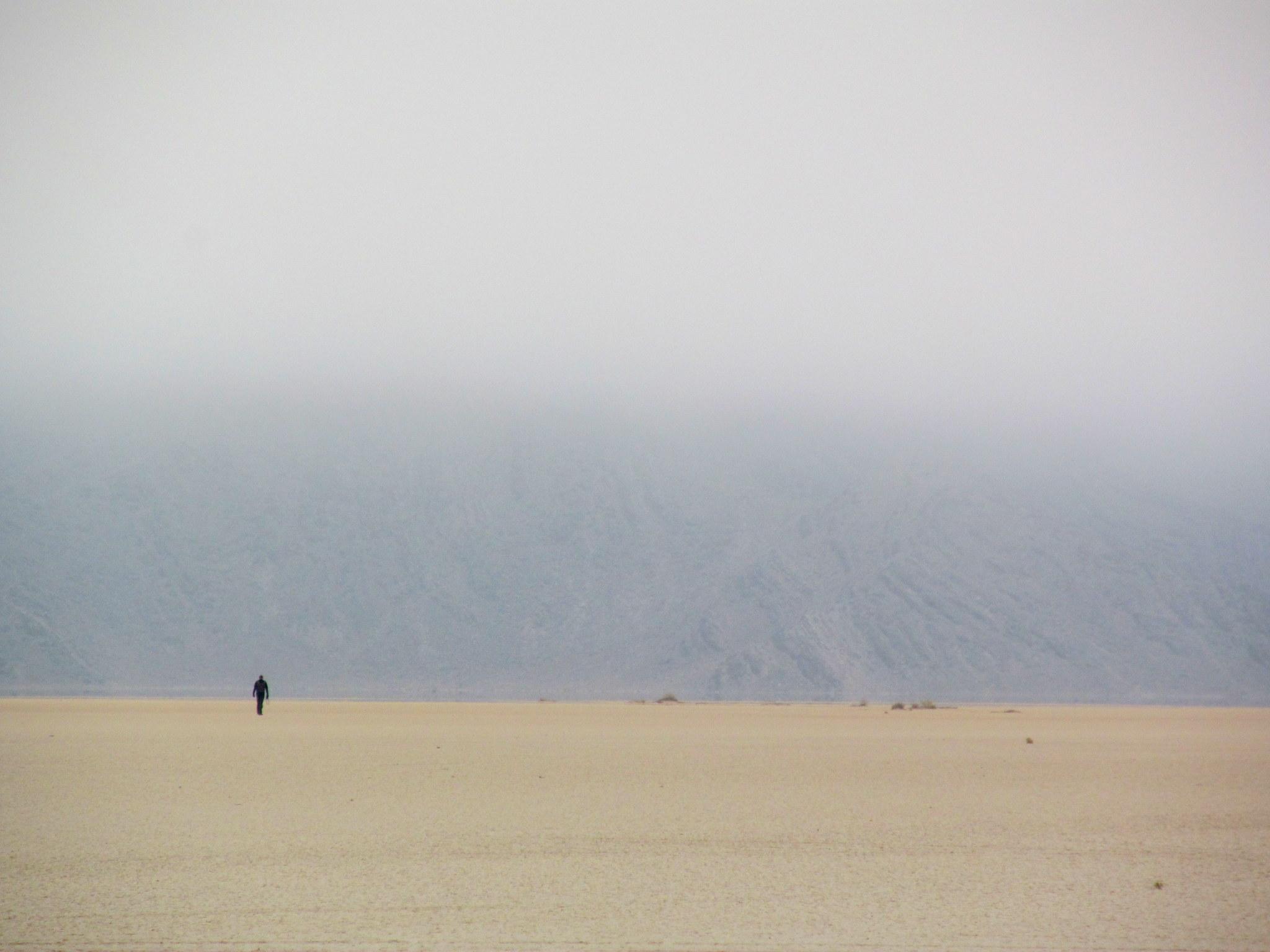 Photo: Chris on the playa