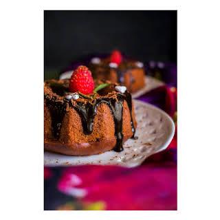 Mini Chocolate Bourbon Olive Oil Cake.