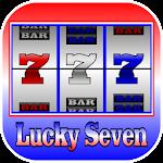 Lucky Seven Slot Machine Icon