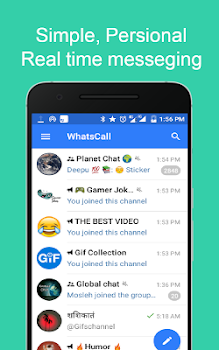 WhatsCall Messenger - free call and chat