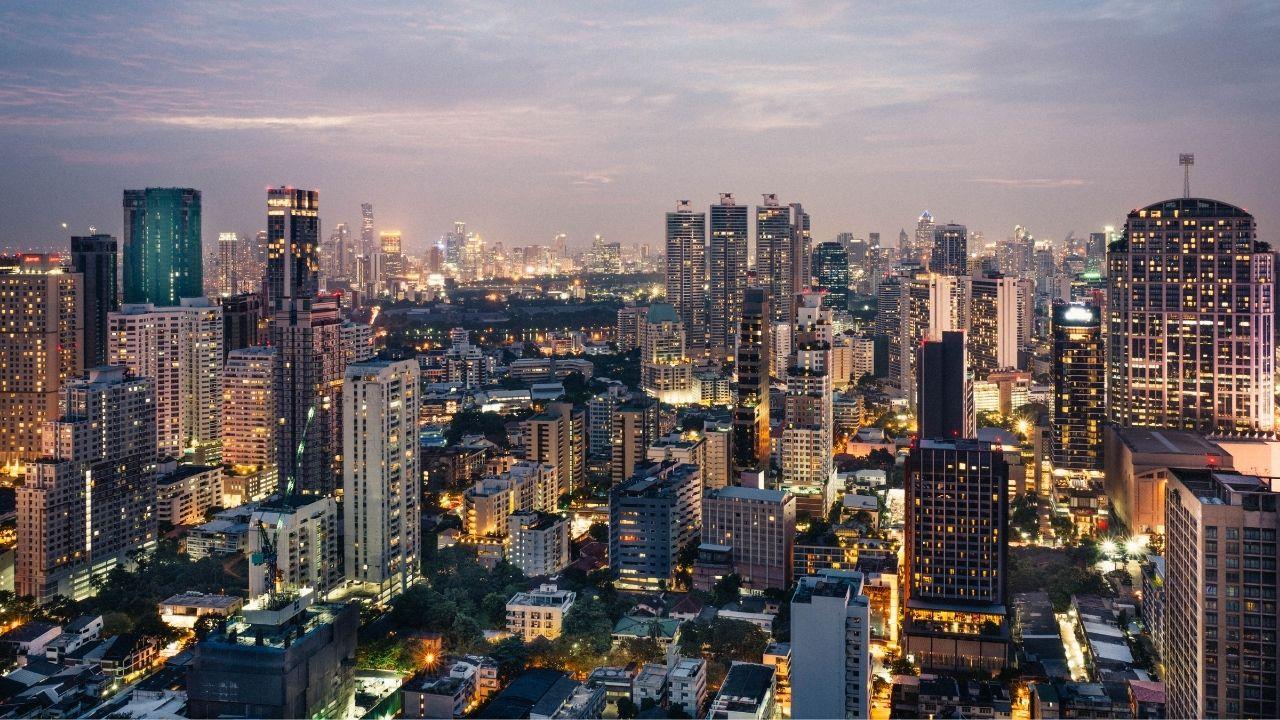 Des condominiums à Bangkok en Thaïlande