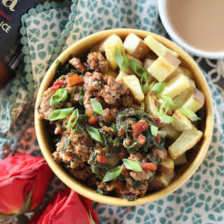 5 Ingredient Egg-Free Shashuka Breakfast Bowls.