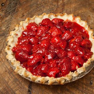 Springtime Fresh Strawberry Pie.