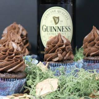 Guinness Chocolate Cupcake.