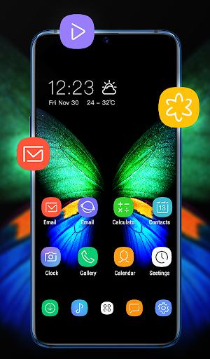 Theme for galaxyu00a0fold changeu00a0your smartphone FREE 1.0.2 screenshots 1