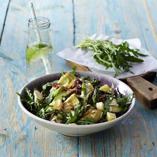 Artichoke and Asparagus Warm Salad