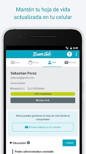DreamJobs - Trabajo y Empleo- screenshot thumbnail