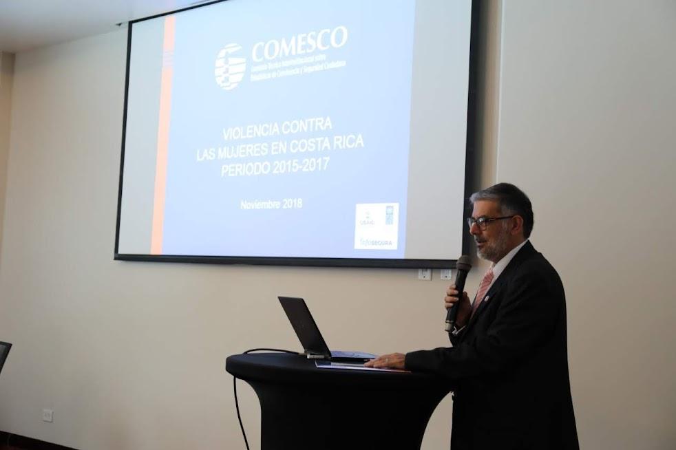 COMESCO PRESENTÓ RADIOGRAFÍA SOBRE LA VIOLENCIA CONTRA LAS MUJERES EN COSTA RICA