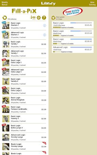 Conceptis Fill-a-Pix screenshots 10