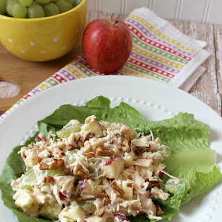 Apple Grape Pecan Chicken Salad