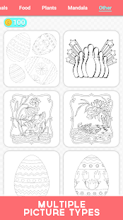 Coloring Books - Free Puzzle Drawing Game For Fun