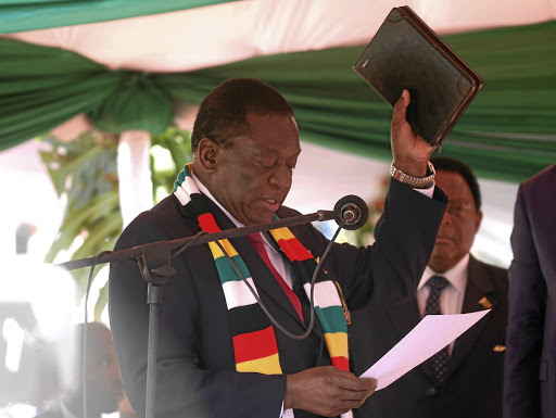 Necessary evil: President Emmerson Mnangagwa says the new tax will help the government raise cash to revive Zimbabwe's ailing economy. Picture: REUTERS