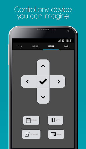 Screenshot for Galaxy Universal Remote in United States Play Store