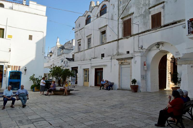 la piazza del Sud di Carmelo Baglivo