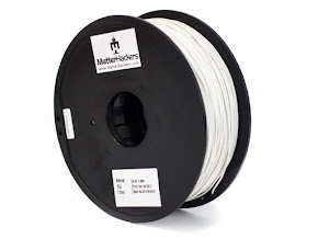 Natural Flexible PLA Filament - 1.75mm (1kg)