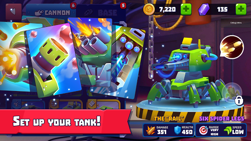 Tanks a lot! - Realtime Multiplayer Battle Arena 1.08966605 screenshots 2