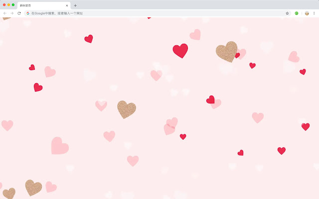 Love HD Wallpapers New Tabs Sweets Theme