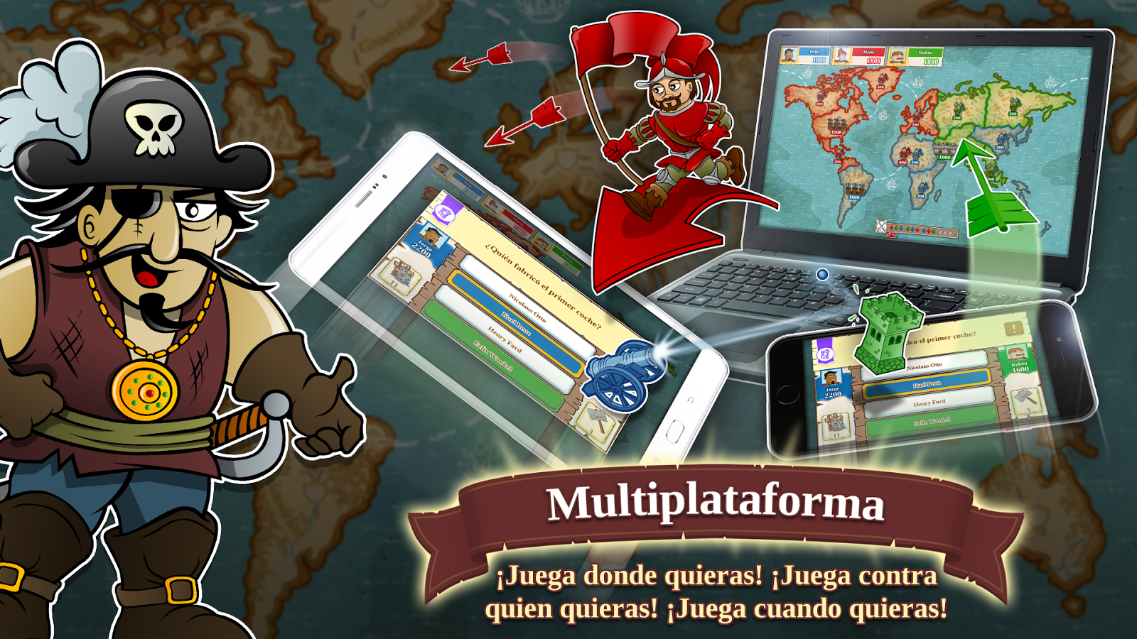 Triviador Mundo- screenshot