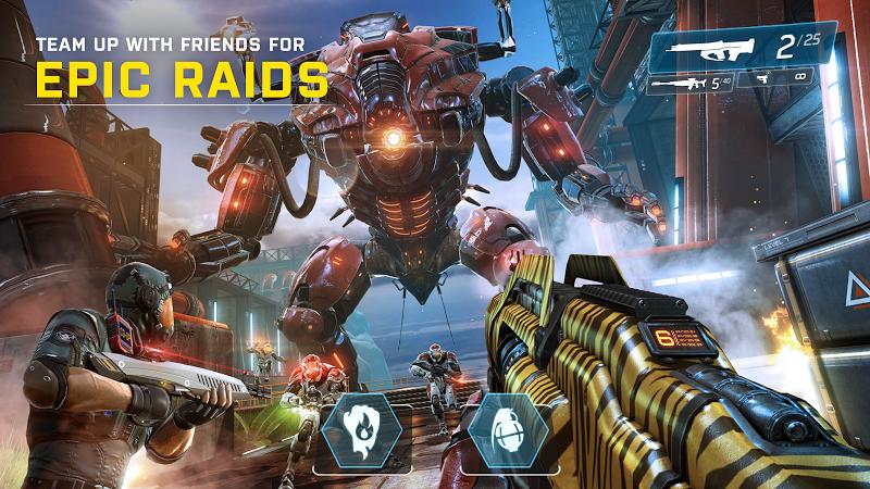 SHADOWGUN LEGENDS: Multiplayer FPS Shooting game Screenshot 2