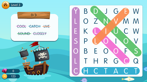 Word Pirates: Free Word Search and Word Games apkpoly screenshots 23
