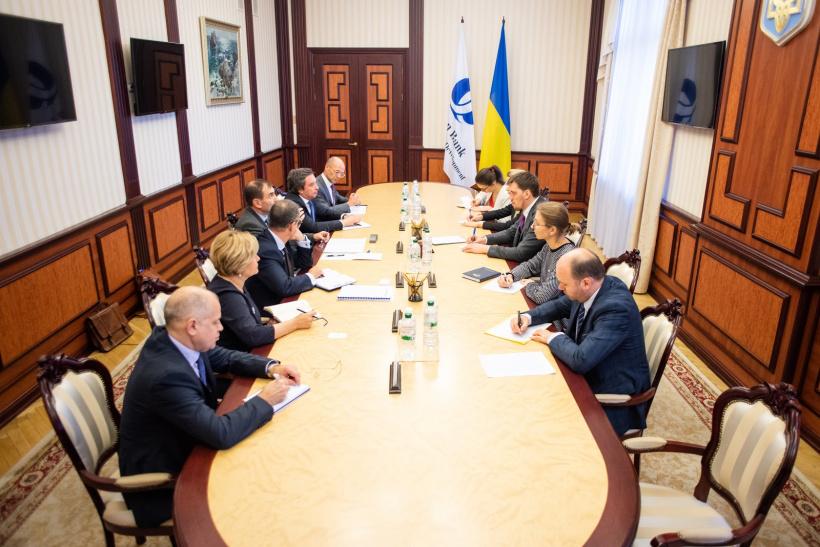 2019 рік стане рекордним за обсягом інвестицій ЄБРР в Україну, – Прем'єр-міністр Олексій Гончарук