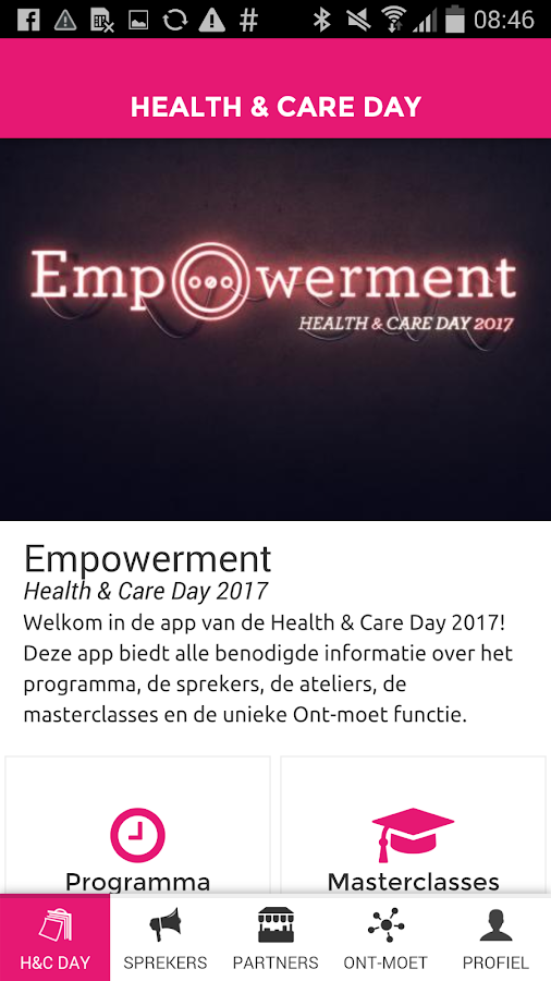 Health & Care Day- screenshot