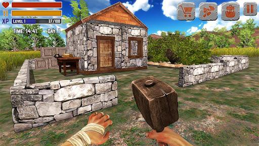 Island Is Home Survival Simulator Game 1.0 APK MOD screenshots 1