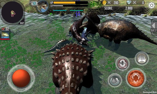 Hungry Dino : 3D Jurassic Adventure 2.1.4 Cheat screenshots 1