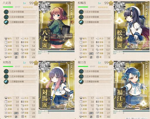 海防艦編成
