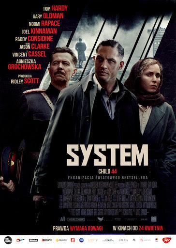 Przód ulotki filmu 'System'