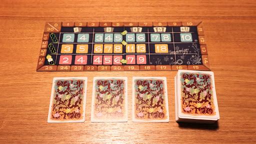 マメィ:ゲームボードの配置