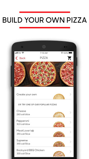 Screenshot for Pizza Hut in United States Play Store