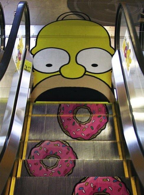 Street Art Creative Advertising